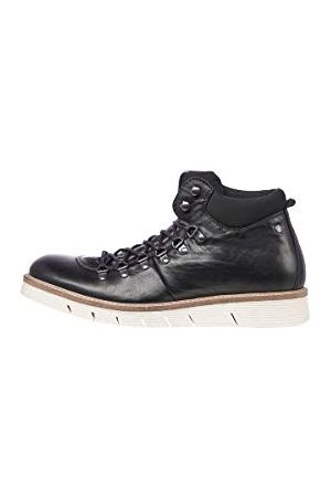 Jack & Jones Herr Jfwcolumbus Leather Anthracite stövel, antracit41 EU
