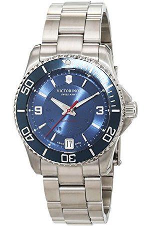 Victorinox Herr analog automatisk klocka med rostfritt stål armband 241709
