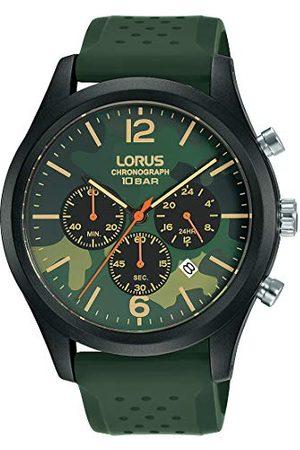 Lorus Sport herrklocka kronograf rostfritt stål och plast med silikonband RT399HX9