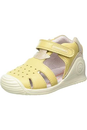 Biomecanics Baby flickor 212110-A sandal, Vainilla (Sauvage), 3 UK