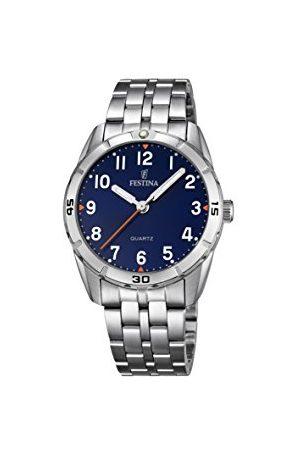 Festina Unisex analog kvartsklocka med rostfritt stål armband F16907/2