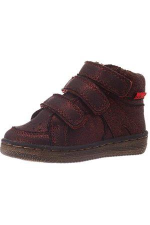 Kickers Baby flickor Lohan-sneaker, Bordeaux Brillant20 EU