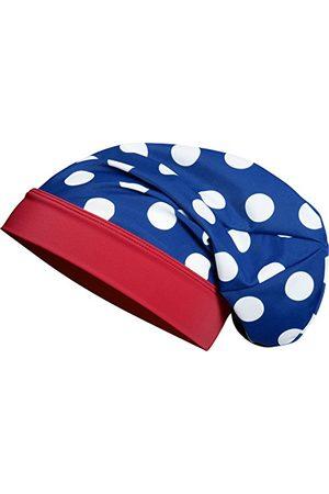 Playshoes Flicka UV-skydd beanie stor poäng mössa