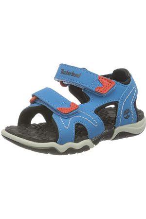 Timberland Unisex barn äventyr sökare 2 (spädbarn) munk-Strap loafer, Ljusblå28 EU