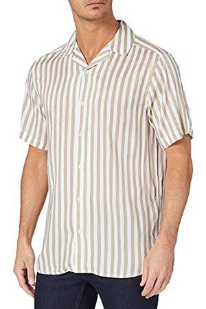 Only & Sons Herr Onswayne Life Ss Viscose skjorta Noos skjorta