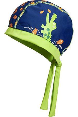 Playshoes Pojkar UV-skydd huvudduk krokodil mössa