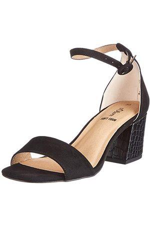 s.Oliver Dam 5-5-28300-26 sandaler med klack, - 41 EU