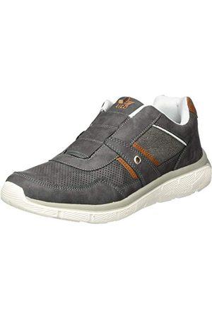 LICO Herr Conner Slipper Sneaker, Antracit brun42 EU