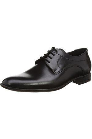 Lloyd Herrskor Garvin, klassisk business-halvsko av läder med gummisula, svart38.5 EU