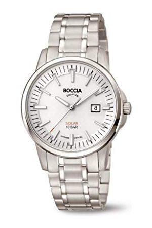 Boccia Herr analog kvartsklocka med titanarmband 3643–03