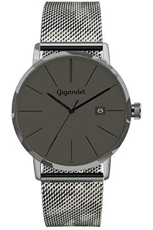 Gigandet Analog kvarts klocka med rostfritt stål armband G42-016