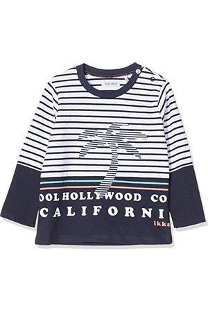 IKKS Baby flickors t-shirt Marinière Homard långärmad topp