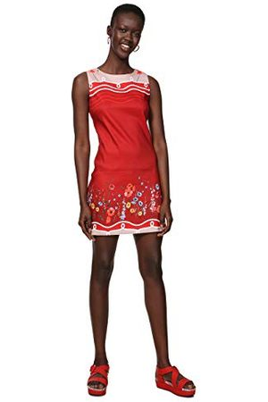 Desigual Dam klänning ärmlös patrice kvinna klänning