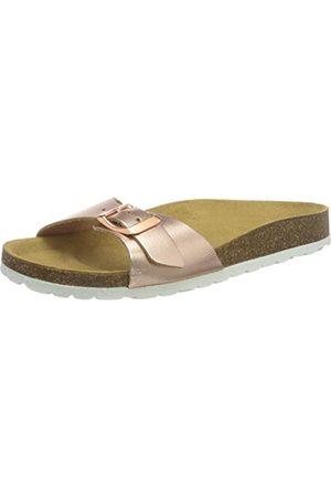 Only Onlmadison metallic läder Slip On Sandal, färg40 EU