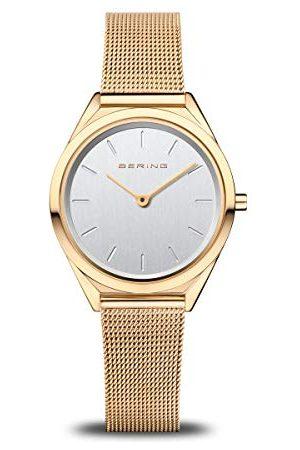 Bering Unisex analog kvartsklocka med rostfritt stål armband 17031–334
