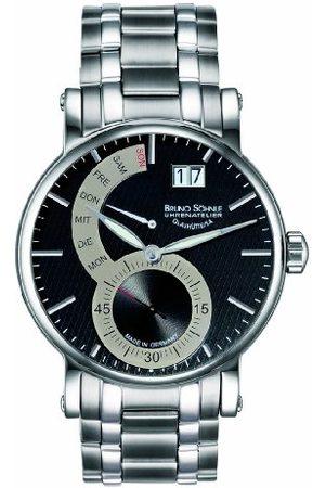 Soehnle Bruno lejon herr analog kvartsklocka med rostfritt stål belagt armband 17–13073–782