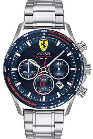 Scuderia Ferrari Kvartsur med rostfritt stål armband 830749