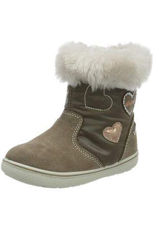 Primigi Flicka Psngt 63594 First Walker Shoe, Marmotta Pietra25 EU