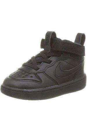 Nike Baby pojkar Court Borough Mid 2 Boot (Td) Sneaker, Black Black 001-25 EU