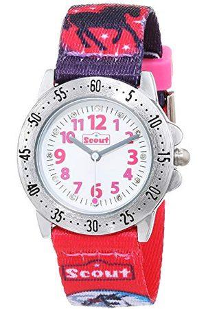 Scout Klockor flicka analog kvartsur med textilband armband 1