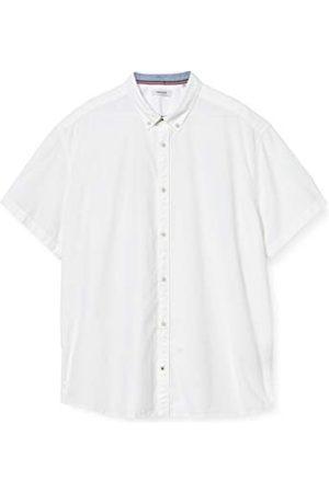 Jack & Jones Herr jesummer tröja S/S Ps skjorta med knapp-ned-krage