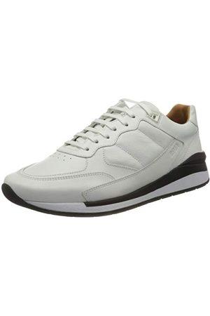 HUGO BOSS Herr Element_runn_gr Sneaker, vit100-45 EU