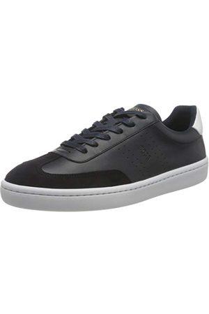 HUGO BOSS Män Ribeira_tenn_ltwt Sneaker, Mörkblå404-45 EU