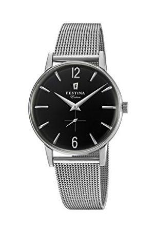 Festina Herr analog kvartsklocka med rostfritt stål armband F20252/4