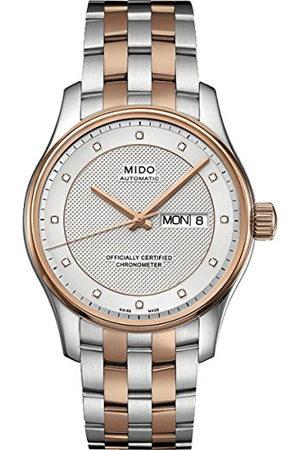 MIDO Herr analog automatisk klocka med rostfritt stål belagt armband M0014312203692