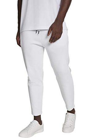 Urban classics Herrbyxor av pique-tyg – tygbyxor Cropped Heavy Pants