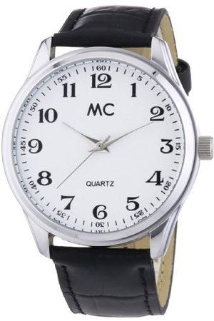 MC MC tidstrend herrarmbandsur analog kvarts läder 27658