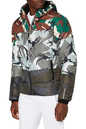 Superdry Herr Camo Mix Sports Puffer Jacka
