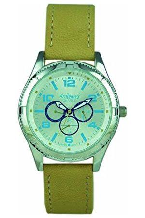ARABIANS Analog kvartsklocka för män med läderrem DBP2221 cm