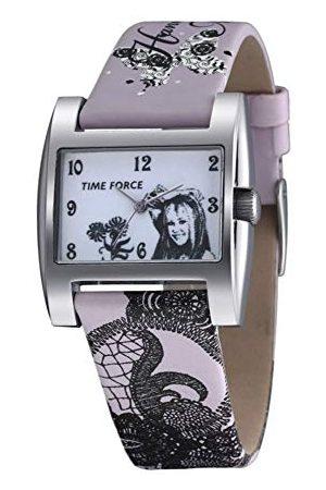 Time Force Pojkar analog kvartsklocka med läderarmband HM1007