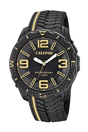 Calypso Calypso klockor herr analog klassisk kvartsklocka med plastrem K5762/6
