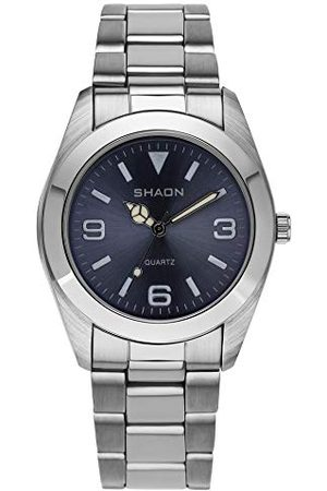 Shaon Herr analog kvartsklocka med rostfritt stål armband 22–7121–98