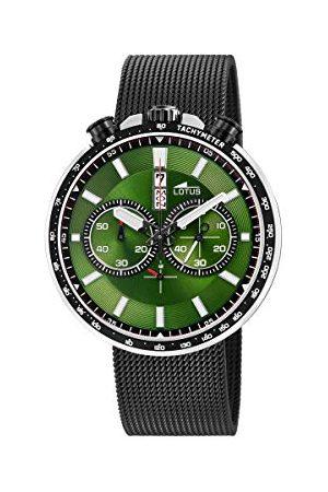 Lotus Herr Chronograph kvartsklocka med rostfritt stål armband 10139/2