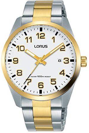 Lorus Herr analog kvartsklocka med rostfritt stål armband RH972JX9