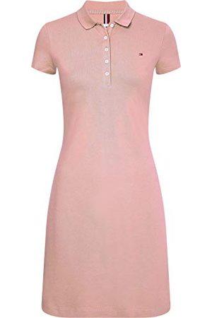 Tommy Hilfiger Dam Slim Short Polo Dress S ledig klänning