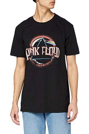 Rock Off Herr rosa floyd DSOTM vintage tätning normal passform rund krage kortärmad t-shirt