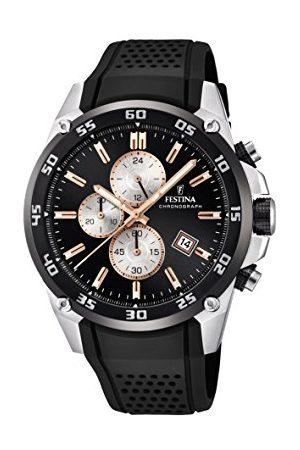 Festina The Originals Collection' kvarts klocka för män med urtavla kronograf display och gummiband F20330/6