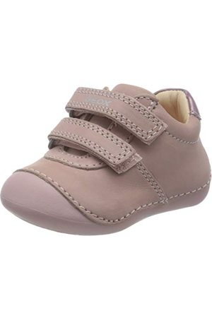Geox Flicka B Tutim B First Walker Shoe, rosa18 EU