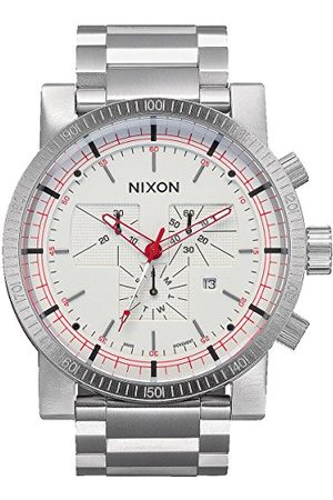 Nixon Herrarmbandsur Magnacon SS II White SR analog kvarts rostfritt stål A457199-00