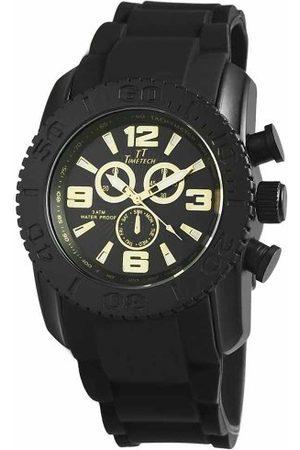 Shaghafi Herr analog kvartsklocka med gummi armband 227471300006