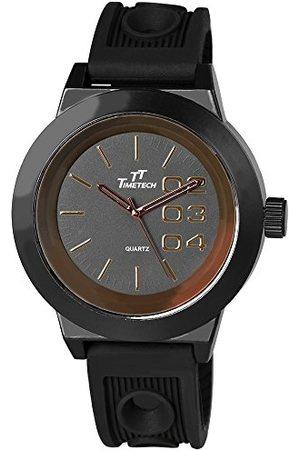Shaghafi Herr analog kvartsklocka med gummi armband 22767700001