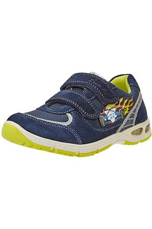 Lurchi Pojkar Brago Sneaker, Marinblå lime32 EU