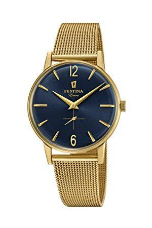Festina Herr analog kvartsklocka med rostfritt stål armband F20253/2