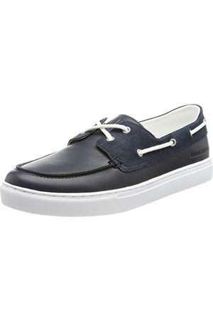 Armani Herr Paris Shoes Boat Shoe, marinblå - 45 EU