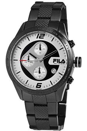 Fila Unisex vuxen analog kvartsklocka med rostfritt stålrem 38-001-003