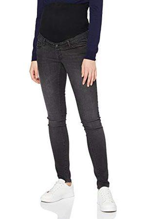Supermom Dam OTB skinny tvättade svarta jeans